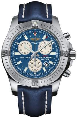 Breitling Stainless Steel Colt Chronograph Quartz Watch 44mm