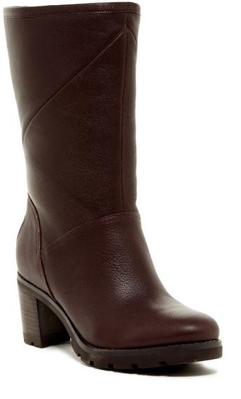 UGGUGG Australia Jessia Water Resistant Genuine Shearling Lined Block Heel Boot
