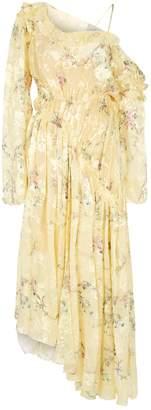 Preen Sheila Floral Asymmetric Dress