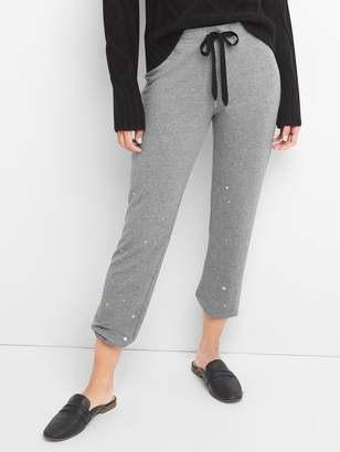 Gap French terry star print joggers