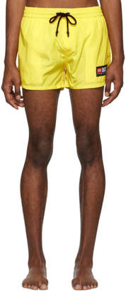 Diesel Yellow BMBX-Sandy Swim Shorts