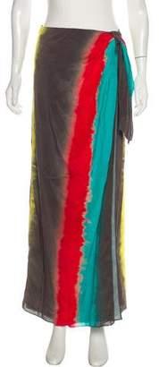 Alice + Olivia Wrap Maxi Skirt