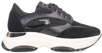 Alberto Guardiani (アルベルト グァルディアーニ) - Alberto Guardiani Black Sport Lady Vague Sneakers