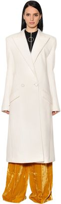Double Wool Cloth Coat $2,398 thestylecure.com