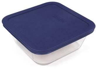 Pyrex Simply Store Square Container 4 Cup/950ml Blue