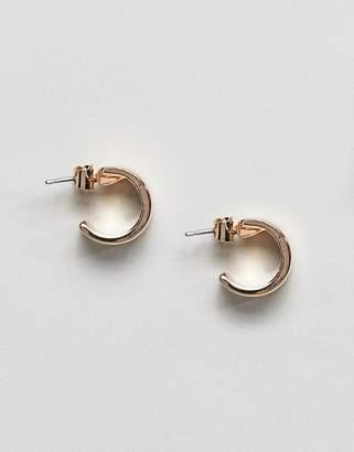 Weekday double drop hoop earrings
