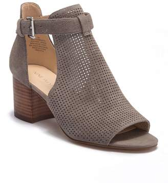 Nine West Gone With Perforated Suede Bootie