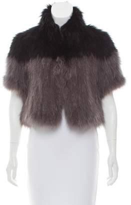 Glamour Puss Glamourpuss Fox Fur Bolero Jacket w/ Tags