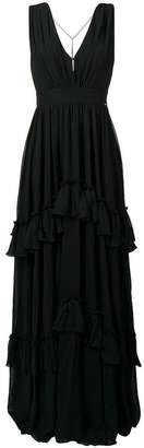 Liu Jo tiered long empire dress