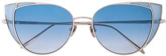 Linda Farrow cat eye frame sunglasses