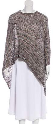 Missoni Wool Knit Poncho
