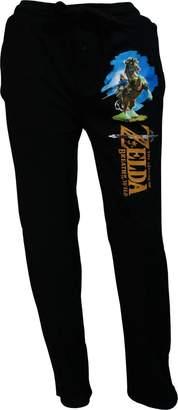 Bioworld Nintendo The Legend of Zelda Breath Of The Wild Lounge Pants for men (Large)