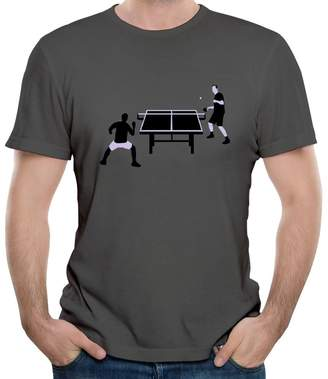 Your Own KaLiSSer Custom Table Tennis T Shirts For Men Design Personalized Tee Shirt