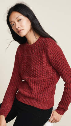 Birds of Paradis The Laura Multi Textured Sweater