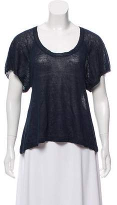 Etoile Isabel Marant Short Sleeve Knit Top