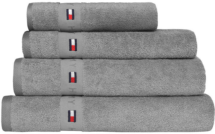 Plain Grey Range Towel - Bath Sheet