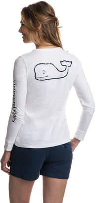 Vineyard Vines Long-Sleeve Whale Graphic Pocket Tee