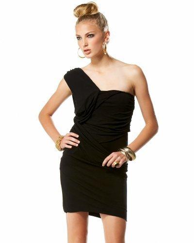 Solo Shoulder Wrap Dress