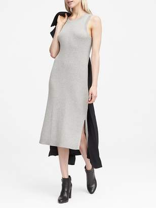 Banana Republic Petite Rib-Knit Sheath Dress