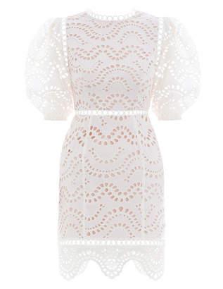 Zimmermann Jaya Wave Short Dress
