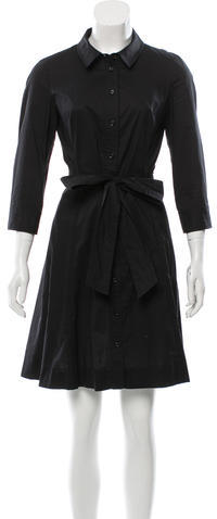 Kate Spade Kate Spade New York Belted Button-Up Dress