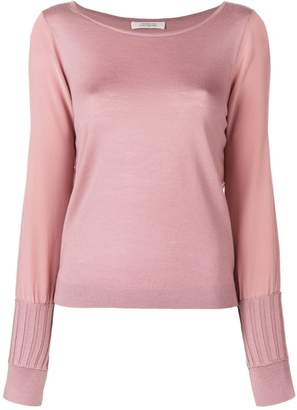 Schumacher Dorothee ribbed cuff jumper