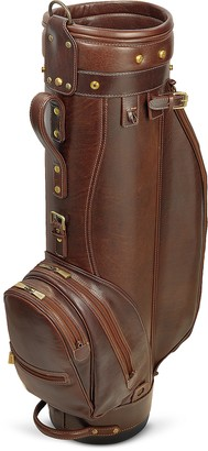 "Chiarugi Prestige 8"" Genuine Italian Leather Golf Bag"