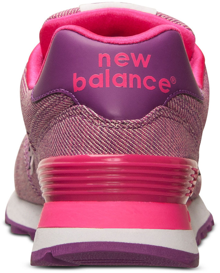 New Balance Women's 574 Glitch Casual Sneakers from Finish Line 7