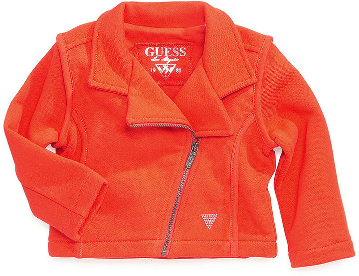 GUESS Girls' Terry Jacket