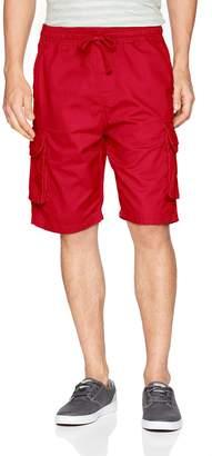 Southpole Men's Basic Twill Cargo Shorts