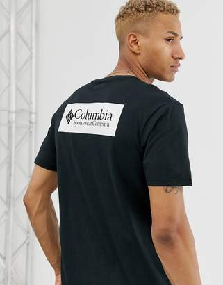 Columbia North Cascades Back Print T-Shirt in Black