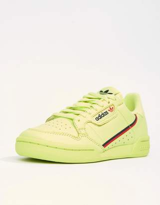 adidas Continental 80's Sneakers In Semi Frozen Yellow