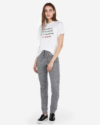Express One Eleven Christmas Crew Neck Graphic Tee 7a6c0709c3bae