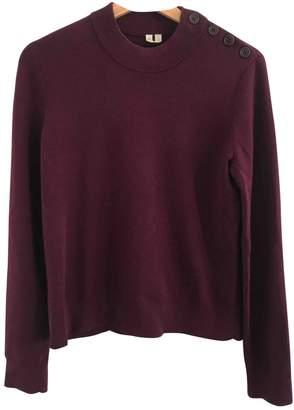 Arket Burgundy Wool Knitwear for Women