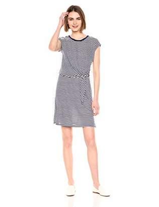 Velvet by Graham & Spencer Women's Mitzi Stripe Linen Blend Knit Dress