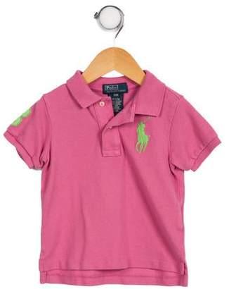 Polo Ralph Lauren Boys' Logo Polo Shirt