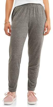 Danskin Women's Premium Active Relaxed Fit French Terry Jogger Pant