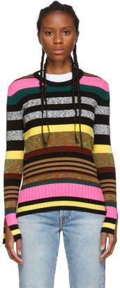 Kenzo Multicolor Striped Crewneck Sweater