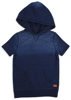 7 For All Mankind Boys' Vintage-Wash Short-Sleeve Hoodie - Little Kid