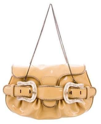 Fendi Patent Leather Mini B. Bag