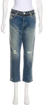 Amo Mid-Rise Cropped Jeans w/ Tags