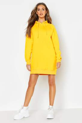 boohoo The Perfect Oversized Hooded Sweat Dress