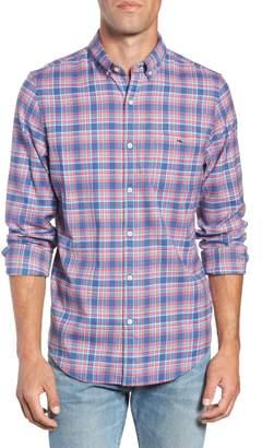 Vineyard Vines Lockwood Regular Fit Plaid Flannel Shirt
