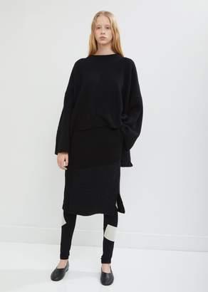 Y's Intarsia Tight Skirt