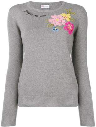 RED Valentino Forget Me Not' sweater