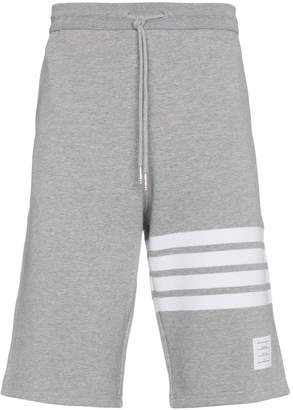 Thom Browne Engineered 4-Bar Jersey Sweatshort