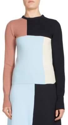 Cédric Charlier Colorblock Sweater