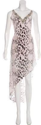 Haute Hippie Printed Sleeveless Dress