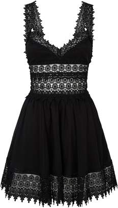 Charo Ruiz Ibiza Marylin Lace Detail Dress