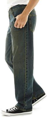 Arizona Mens Loose Fit Straight Jean